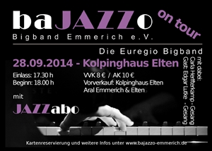 BaJAZZO on Tour! 28-09-2014 te Elten